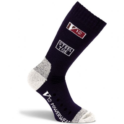 VSOK3 NAVY CALF LENGTH V12 SOCK